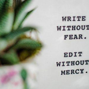 Texto sobre la escritura creativa